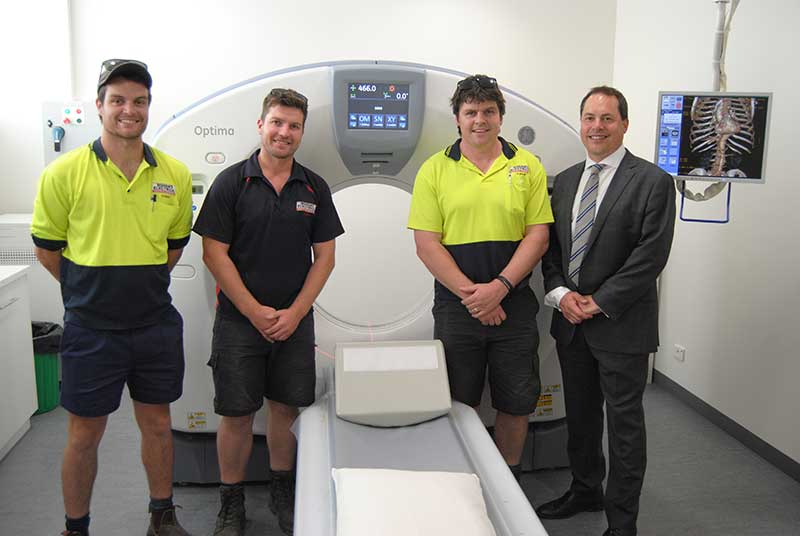 CT Scan Machine installation at Naracoorte Hospital